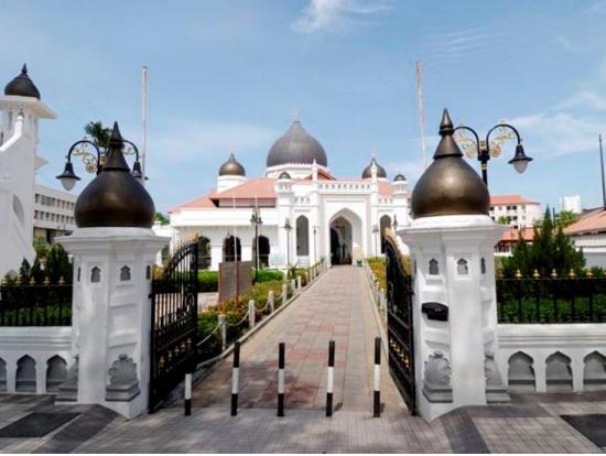 263168 カピタンクリンモスク 「東洋の真珠」といわれるペナン島・ジョージタウン...  ペ