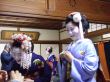 Meeting maiko in Kyoto