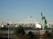Replica Statue of Liberty in Odaiba