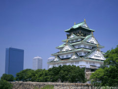 The mighty Osaka Castle