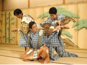 A performance at Gion Corner