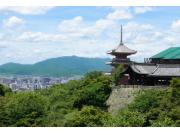 Kiyomizudera Temple overlooking Kyoto
