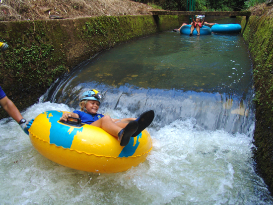 river tubing for families