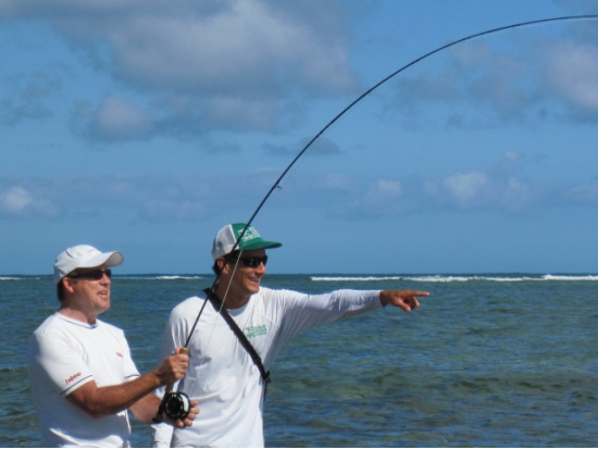 Fly fishing lesson small group tour on south east coast for Fishing in hawaii oahu