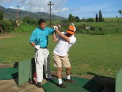 ハワイ・カントリークラブ レッスンプロによる日本語レッスン&送迎付きゴルフツアー