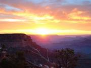 Grand Canyon / 夕陽?朝日?