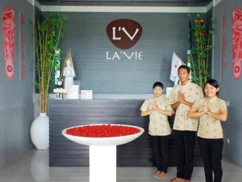 ラヴィ・トータル・センセーション・マッサージ「LA'VIE」スパパッケージ 確かな技術力に定評<往復送迎付/ジンバラン地区>