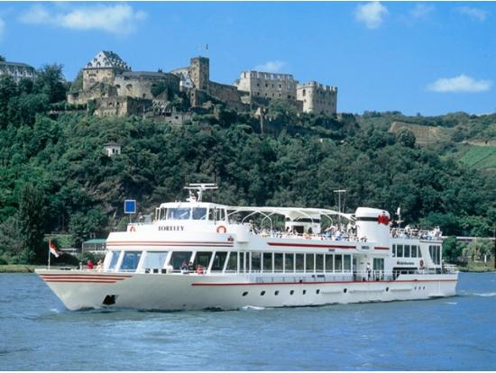 KD Rhine River Hopon Hopoff Cruise OneDay Pass Frankfurt Tours - Rhine river