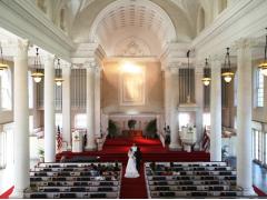 ハワイ 本格挙式(ウェディング) セントラル・ユニオン教会 (大聖堂) ビーチフォト付きプラチナパッケージ(挙式&事前打合せ・撮影・衣装・メイク)