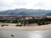 【安東】芙蓉台から眺める村の景色
