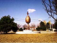百済金銅大香炉