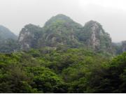 遊覧船からの観光できる亀潭峰と玉筍峰