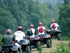 ハワイ島 ATV四輪バギーのワイルドアドベンチャーツアー