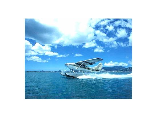 水上エアポート出発!水上飛行機...