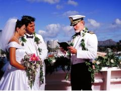 ハワイ 1日完結挙式(ウェディング) スターオブホノルル号 海で愛を誓う! 船上挙式&サンセット・クルーズ・パッケージ(挙式・ディナー・クルーズ)