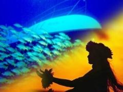 伝統ルアウ&フラ・ハワイアンショー アイランド・ブリーズ・ルアウ/ティハティ アトランティス潜水艦付き!