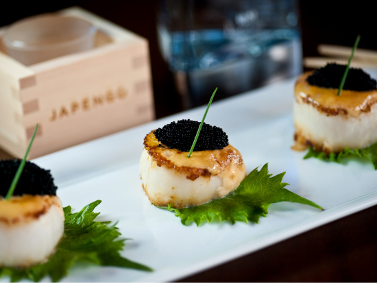 Japengo japanese fusion cuisine at the hyatt regency for Asian fusion cuisine restaurants