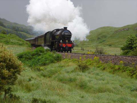 5 Jacobite Steam Train