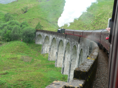 6 Glenfinnan Viaduct from The Jacobite