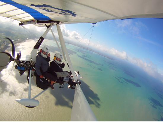 ulm mont michel vol decouverte st michael s mount by ultralight aviation tours