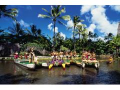 ポリネシア文化センター オアフ島半日観光&オールデイパッケージ