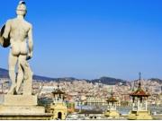 バルセロナを午前観光!