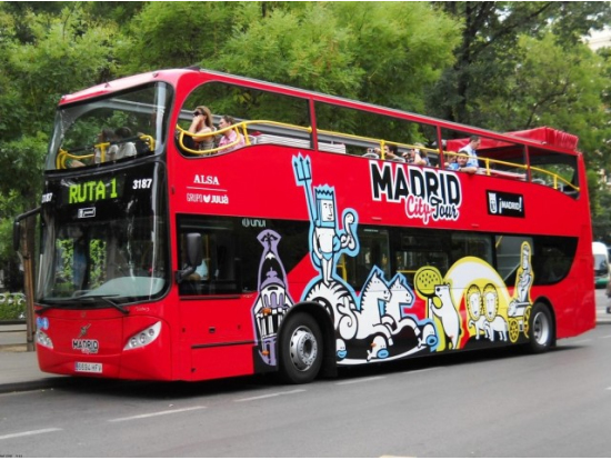 Madrid Hopon Hopoff City Sightseeing Tour Madrid tours