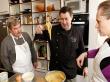 Confection de la pâte à choux