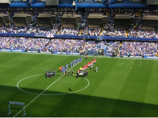 Premier League Football Chelsea Fc Upper Tier Match