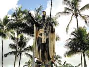 カメハメハ大王銅像