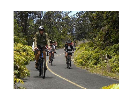 Bike Hawaii Day Tours Bike Volcanoes National Park