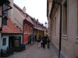 プラハ城内黄金の小道