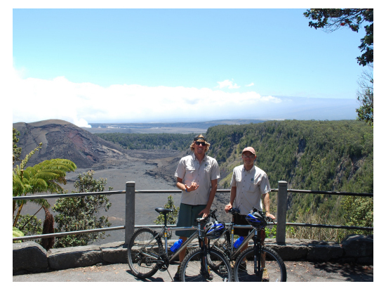 Bike Hawaii Volcano View all images