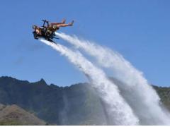 水上を自由自在に飛行!ジェットレブ(ジェットパック)