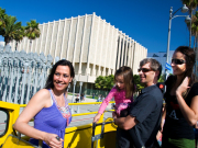 Boarding the Starline CitySightseeing Bus at LACMA