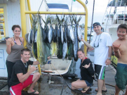 18-Mahi-20-Shibi-2-Ono-caught-on-Seahawk-...wiyh-Lyndsy-stacey-Zane-James-with-mate-mikey