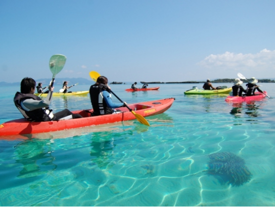 Clear Kayak Tour With Snorkeling And Visit To A Desert Island From