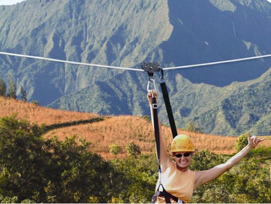 Princeville Ranch Zipline Adventure Photos Kauai Tours