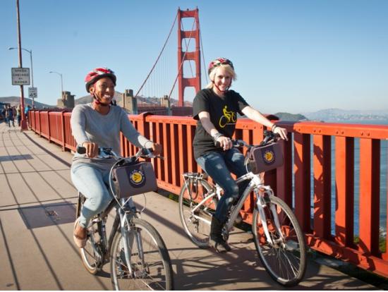 自転車で行く!サンフランシスコ&サウサリート観光ツアー<英語ガイド> サンフランシスコの観光・オプショナルツアー