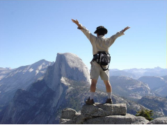 YOsemite / グレイシャーポイントにて