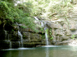 水落の滝.写真