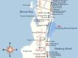 Map Bali Coral Tandjung Benoa
