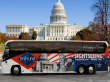 Gray Line - Bus in front of Capitol