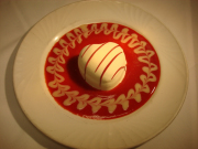 Heart Shaped White Chocolate Gelato