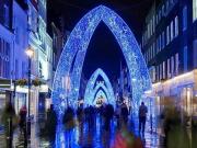 south molton st xmas lights