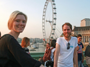 London Eye Portrait