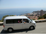 minivan our of the french riviera