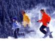 snowshoeing-trio