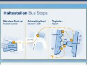 Munich Shuttle Bus Stops