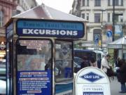 Gray Line Kiosk
